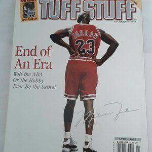 Tuff Stuff Basketball Michael Jordan April 1999 En